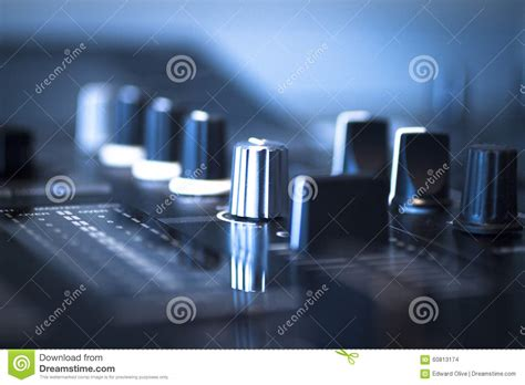 ibiza house music dj console mixing desk ibiza house music party nightclub stock photo image 60813174