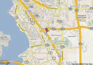 map of candlewood suites jacksonville southpoint jacksonville