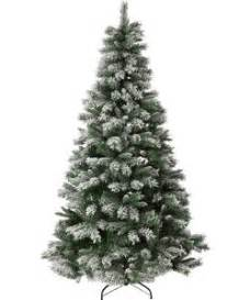 buy green snow covered christmas tree 7ft at argos co uk
