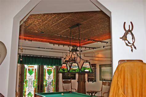 Tin Room Theater by A Room With Tin Ceilings Eclectic Home Theater Ta By American Tin Ceiling Company