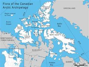 map canadian arctic islands
