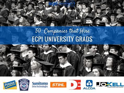 Companies Tha Thire Xavier Mba Graduates by 50 Companies That Hire Ecpi Graduates