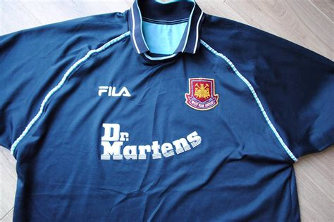Dr Martens West Ham United Tees west ham united football shirt fila dr martens whu