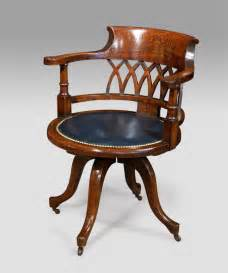 antique office chair captains chair swivelling chair - Antique Office Furniture