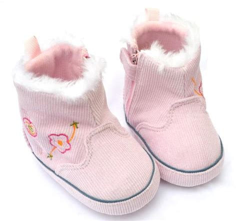 pink high top toddler baby shoes boots size 2 3 4 ebay