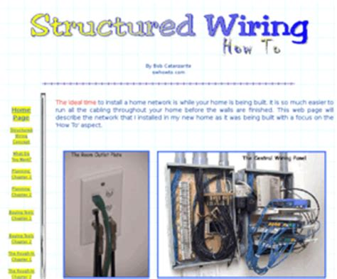 swhowto structured wiring how to wire your own