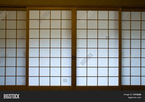 Paper Screens - traditional japanese paper screen image photo bigstock