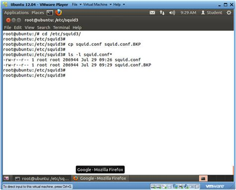 configure ubuntu server proxy ubuntu lesson 12 installing and configuring squid proxy