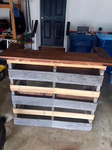 build  pallet bar step  step instructions easy