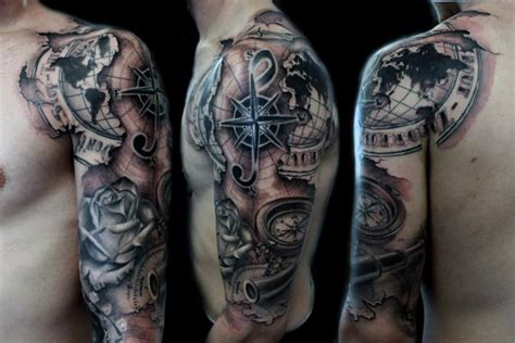14 full sleeve tattoo design male models picture