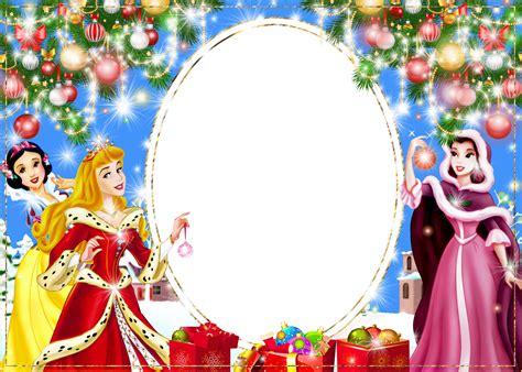 Frame Disney png photo frame with princesses cadre