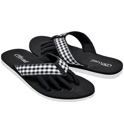 toe separator sandals pedi couture new s gingham pedicure spa toe