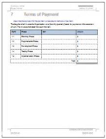 sow template for software development statement of work template