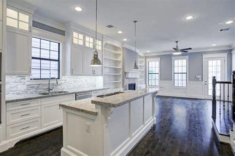 Kitchen Cabinet Lighting The Kitchen Features Himalaya White Granite Under Cabinet