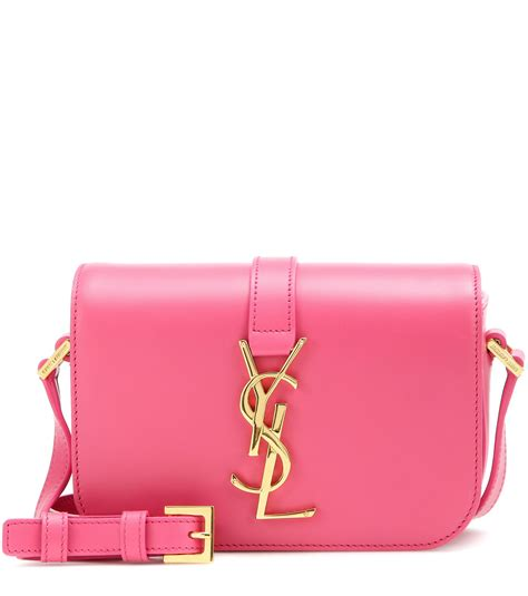 Mj Snap Sling Bahan Taiga With Strab laurent monogram universit 233 small leather shoulder bag in pink lyst
