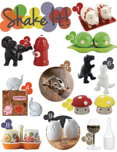 funky salt and pepper shakers 10 funky salt and pepper shakers