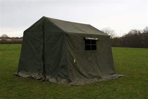 Back At The Tents by 9 X 9 Ex Army Frame Tent Grade