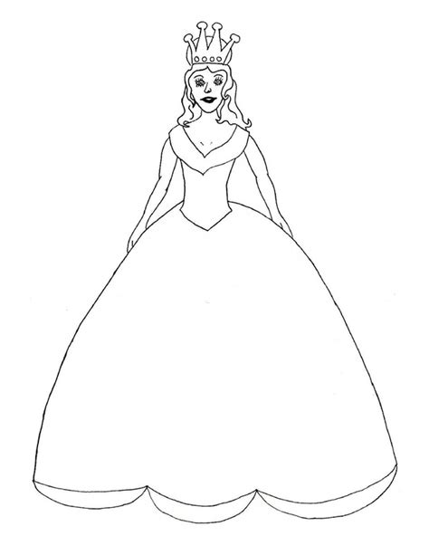 princess template princess colouring craft craft n home