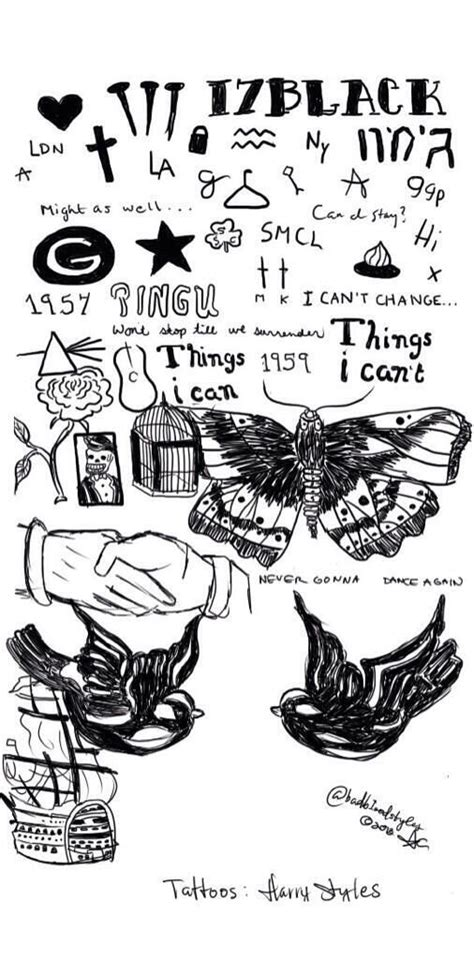 harry styles monkey knot tattoo hey everyone i m gonna try to do a cover of one of 1d s