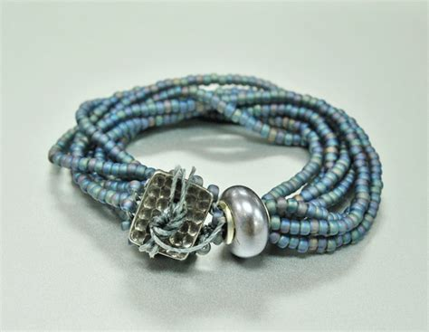 upcoming events multi strand seed bead bracelet the lh