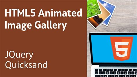jquery quicksand tutorial html5 programming tutorial learn html5 animated image