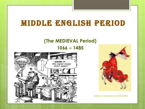 english literature the medieval period middle english british literature through time