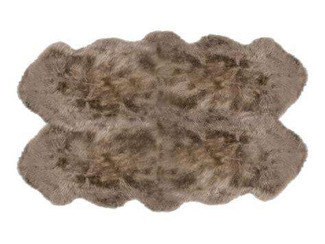 taupe sheepskin rug fibre by auskin sheepskin rugs 4 pelt premium taupe ultimate sheepskin