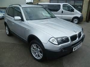 2005 Bmw X3 For Sale Used Bmw X3 2005 Diesel 2 0d Se 5dr 4x4 Silver Edition For