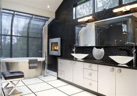 river rock bathroom designs decorating ideas design