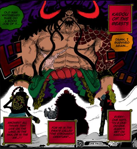 Anime Kaido The Beast 100 beast kaido spoilers for anime only by dude2016 on
