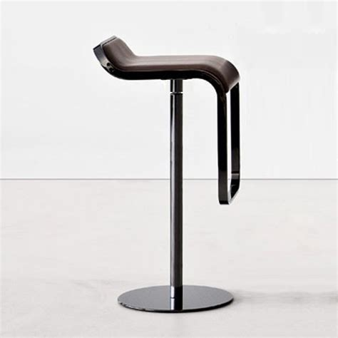 fixed bar stool lapalma lem fixed height bar stool modern bar stools