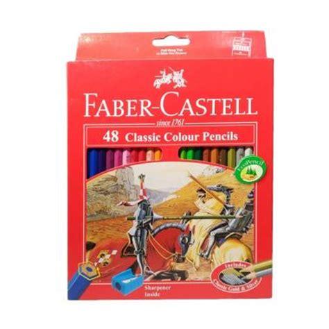 Pensil Warna Faber Castell 48 Classicklasik jual rekomendasi seller faber castell 48 classic colour