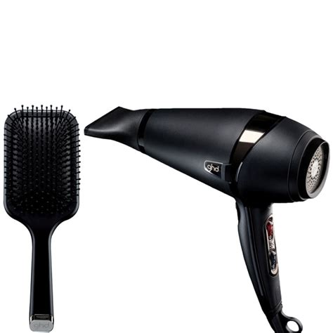Hair Dryer Air Temperature ghd air hair dryer and paddle brush free shipping