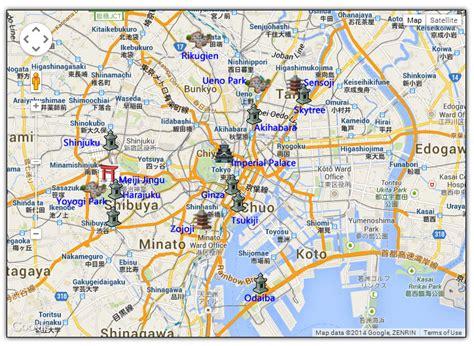 maps tokyo maps update 12361258 tourist map of tokyo tourist map
