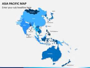 asia pacific map powerpoint sketchbubble