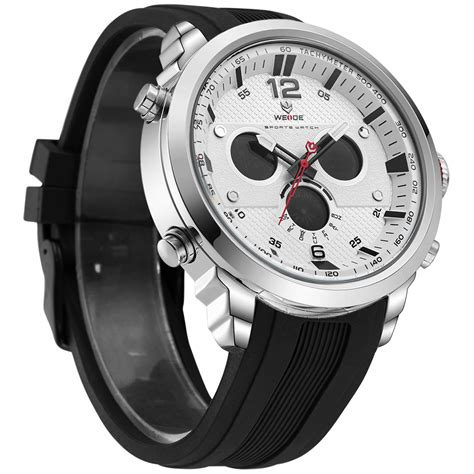 Jam Tangan Digitec 2100 Silver weide jam tangan analog silicone wh6303 gray silver jakartanotebook