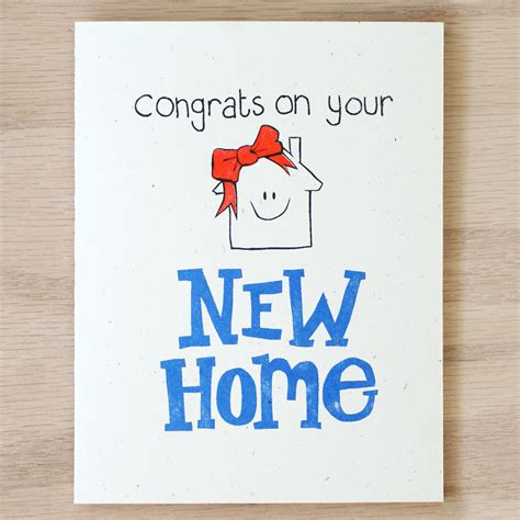 new home card template new home card on storenvy