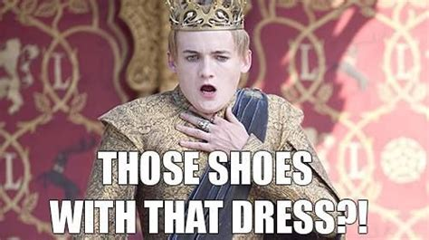 Joffrey Memes - game of thrones king joffrey clutch the pearls funny