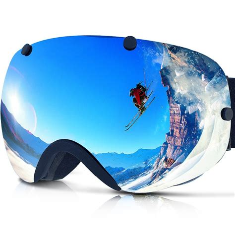 best snow goggles best ski goggles for