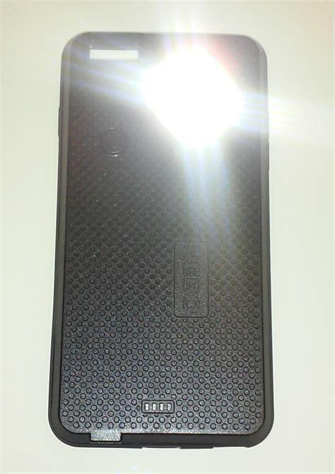 iphone flashlight nebo 6347 casebrite iphone 6 6s with led flashlight black kiesub electronics