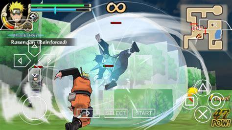 naruto shippuden ultimate ninja impact psp iso   ppsspp setting  psp games
