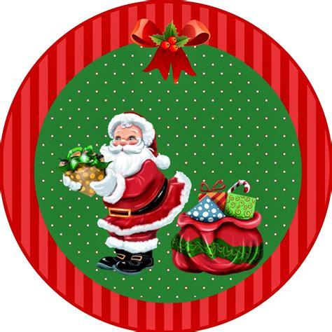 imagenes navidad redondas kit personalizados tema natal