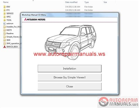 online auto repair manual 1999 mitsubishi pajero spare parts catalogs service manuals mitsubishi 3000gt mitsubishi 3000gt autos post
