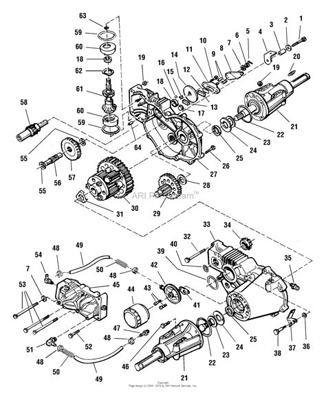 44 parts diagram simplicity 1692701 landlord 16hp hydro and 44 quot mower