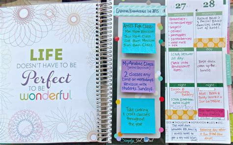 this is the day planner diary by erin rippy diy simply in control honest erin condren planner review and