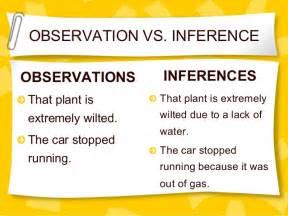Observations Vs Inferences Worksheet by Observation Vs Inference Worksheet Worksheets For School