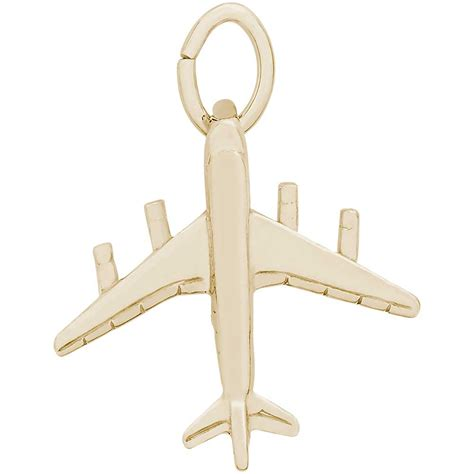 Gold Plated 707 rembrandt dc 8 707 charm gold plated silver precious
