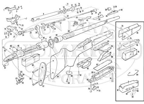 savage model 110 parts diagram 110b series k accessories numrich gun parts