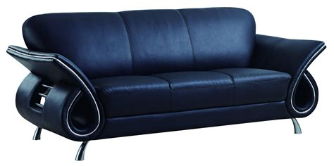 sofa global global furniture u559 black sofa the home