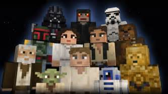 Star wars skins bring the force to minecraft starwars com